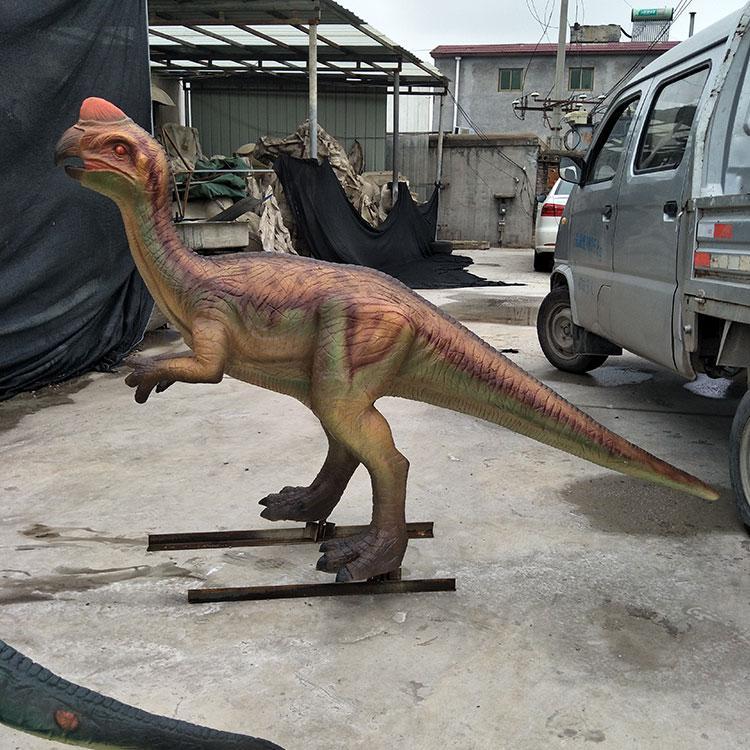 玻璃钢恐龙模型摆件 玻璃钢仿真恐龙厂家 景观园林动物雕塑,鹏钊