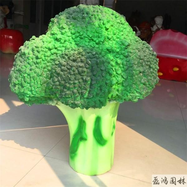 黑河磊鸿园林玻璃钢雕塑厂 玻璃钢雕塑设计植物蔬菜雕塑创意工艺品生产