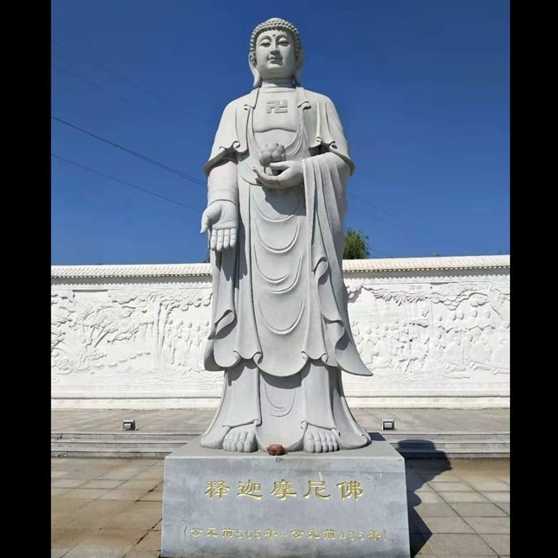 佛像定制 石雕观音佛像 释迦牟尼佛 地藏王菩萨石雕 大理石观音像