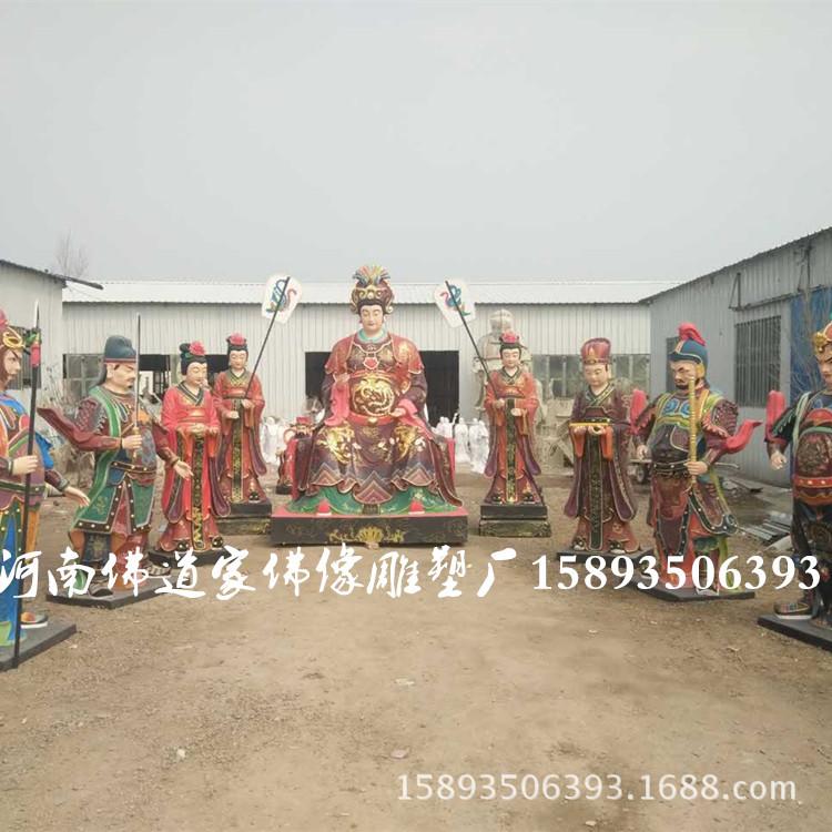 皇极老母佛像生产厂家 十二老母雕塑像 河南佛道家佛像雕塑3米高示例图1