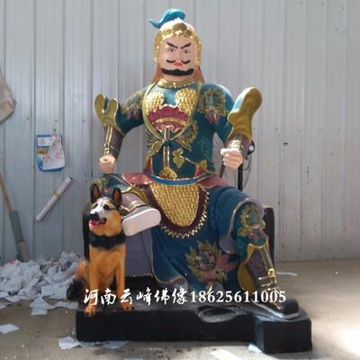 河南云峰佛像订做 山神 仙家神像 道教山神爷神像 树脂土地神像 玻璃钢贴金彩绘神像寺庙用品 雕塑