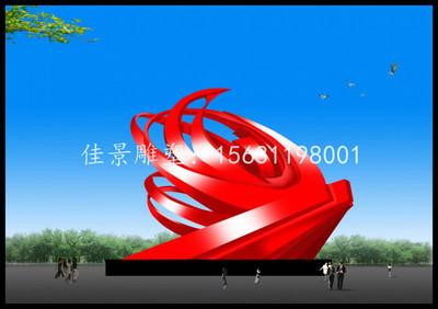 河南郑州大型不锈钢雕塑,广场不锈钢雕塑厂家