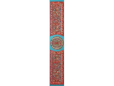 OUHQ035-JDP格式欧式护墙板精雕图欧式洋花浮雕电脑精雕图洋花护墙板雕刻图(含灰度图)
