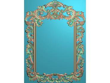 OSJK020-JDP格式欧式镜框精雕图洋花镜框精雕图镜框浮雕电