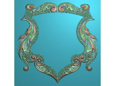 OSJK041-JDP格式欧式镜框精雕图洋花镜框精雕图镜框浮雕电脑雕刻图