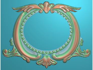 OSJK049-JDP格式欧式镜框精雕图洋花镜框精雕图镜框浮雕电脑雕刻图