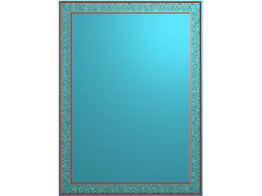 OSJK060-JDP格式欧式花边镜框精雕图洋花相框精雕图镜框浮雕电脑雕刻图