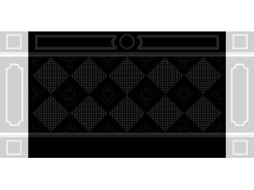OBJQ062-JDP格式欧式整体背景墙精雕图电视背景墙电脑雕刻图背景墙浮雕精雕图(含灰度图)