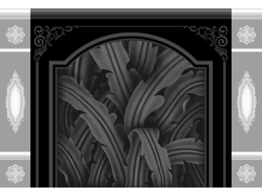 OBJQ069-JDP格式欧式整体背景墙精雕图电视背景墙电脑雕刻图背景墙浮雕精雕图(含灰度图)