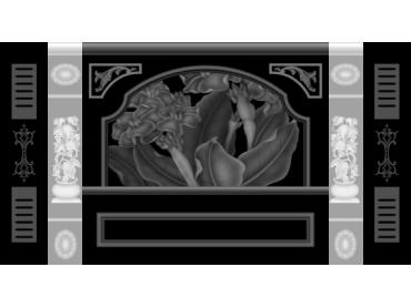 OBJQ077-JDP格式欧式整体背景墙精雕图电视背景墙电脑雕刻图背景墙浮雕精雕图(含灰度图)