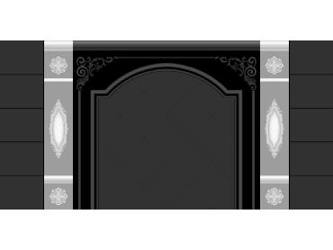 OBJQ080-JDP格式欧式整体背景墙精雕图电视背景墙电脑雕刻图背景墙浮雕精雕图(含灰度图)