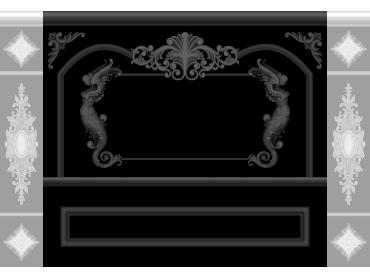 OBJQ082-JDP格式欧式整体背景墙精雕图电视背景墙电脑雕刻图背景墙浮雕精雕图(含灰度图)