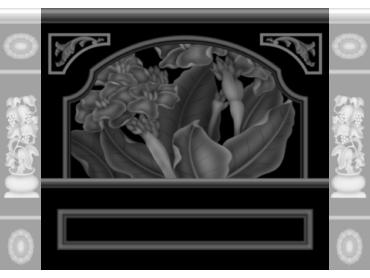 OBJQ086-JDP格式欧式整体背景墙精雕图电视背景墙电脑雕刻图背景墙浮雕精雕图(含灰度图)