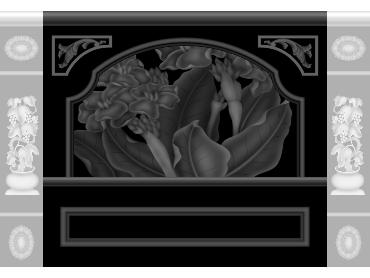 OBJQ088-JDP格式欧式整体背景墙精雕图电视背景墙电脑雕刻图背景墙浮雕精雕图(含灰度图)