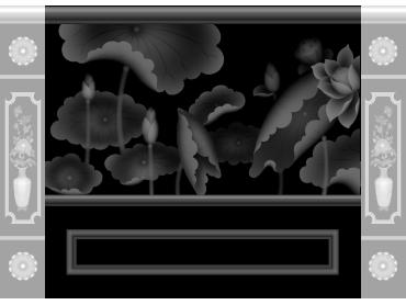 OBJQ089-JDP格式欧式整体背景墙精雕图电视背景墙电脑雕刻图背景墙浮雕精雕图(含灰度图)