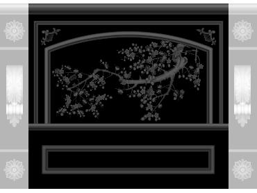 OBJQ090-JDP格式欧式整体背景墙精雕图电视背景墙电脑雕刻图背景墙浮雕精雕图(含灰度图)