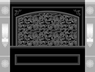OBJQ094-JDP格式欧式整体背景墙精雕图电视背景墙电脑雕刻图背景墙浮雕精雕图(含灰度图)