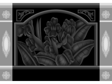 OBJQ100-JDP格式欧式整体背景墙精雕图电视背景墙电脑雕刻图背景墙浮雕精雕图(含灰度图)