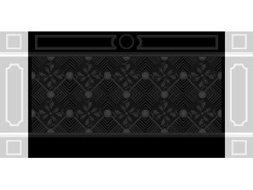 OBJQ101-JDP格式欧式整体背景墙精雕图电视背景墙电脑雕刻图背景墙浮雕精雕图(含灰度图)