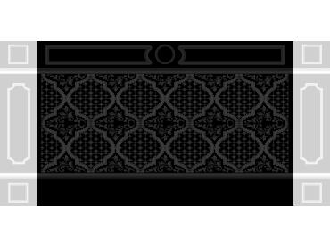 OBJQ118-JDP格式欧式整体背景墙精雕图电视背景墙电脑雕刻图背景墙浮雕精雕图(含灰度图)
