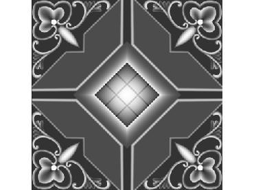 OBJQ124-JDP格式-欧式背景墙花纹精雕图欧式背景墙浮雕电脑精雕图欧式电视墙花纹雕刻图(含灰度图)