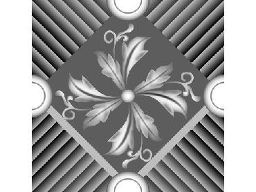 OBJQ127-JDP格式-欧式背景墙花纹精雕图欧式背景墙浮雕电脑精雕图欧式电视墙花纹雕刻图(含灰度图)