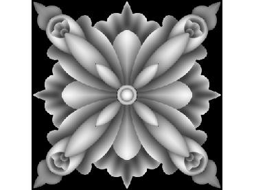 OBJQ131-JDP格式-欧式背景墙花纹精雕图欧式背景墙浮雕电脑精雕图欧式电视墙花纹雕刻图(含灰度图)