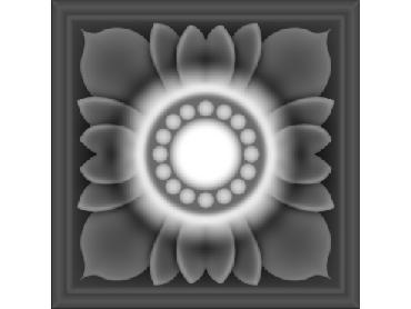 OBJQ132-JDP格式-欧式背景墙花纹精雕图欧式背景墙浮雕电脑精雕图欧式电视墙花纹雕刻图(含灰度图)