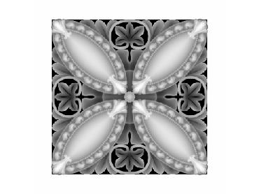 OBJQ136-JDP格式-欧式背景墙花纹精雕图欧式背景墙浮雕电脑精雕图欧式电视墙花纹雕刻图(含灰度图)