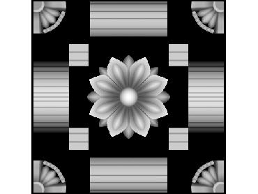 OBJQ141-JDP格式-欧式背景墙花纹精雕图欧式背景墙浮雕电脑精雕图欧式电视墙花纹雕刻图(含灰度图)