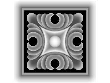 OBJQ142-JDP格式-欧式背景墙花纹精雕图欧式背景墙浮雕电脑精雕图欧式电视墙花纹雕刻图(含灰度图)