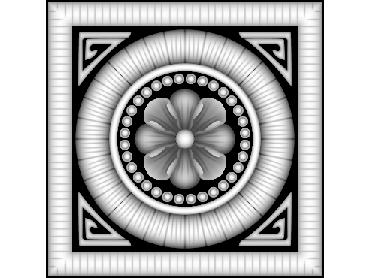 OBJQ144-JDP格式-欧式背景墙花纹精雕图欧式背景墙浮雕电脑精雕图欧式电视墙花纹雕刻图(含灰度图)