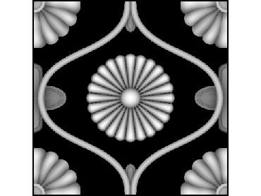 OBJQ145-JDP格式-欧式背景墙花纹精雕图欧式背景墙浮雕电脑精雕图欧式电视墙花纹雕刻图(含灰度图)