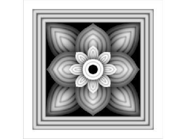OBJQ148-JDP格式-欧式背景墙花纹精雕图欧式背景墙浮雕电脑精雕图欧式电视墙花纹雕刻图(含灰度图)