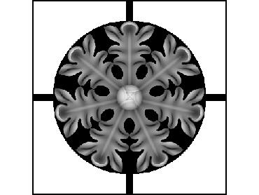 OBJQ152-JDP格式-欧式背景墙花纹精雕图欧式背景墙浮雕电脑精雕图欧式电视墙花纹雕刻图(含灰度图)