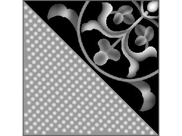 OBJQ153-JDP格式-欧式背景墙花纹精雕图欧式背景墙浮雕电脑精雕图欧式电视墙花纹雕刻图(含灰度图)