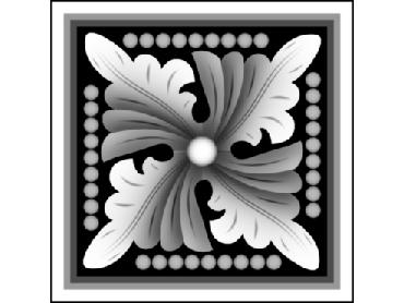 OBJQ154-JDP格式-欧式背景墙花纹精雕图欧式背景墙浮雕电脑精雕图欧式电视墙花纹雕刻图(含灰度图)