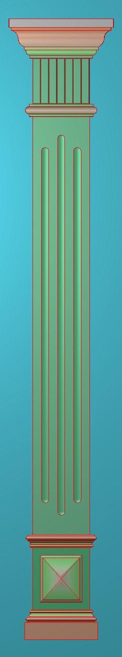 欧式浮雕,柱板柱托,欧式柱板洋花精雕图,罗马柱板洋花精雕图,长条柱板洋花雕刻图,柱板灰度图