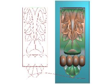 ZBZT008-JDP格式欧式柱托洋花精雕图罗马柱洋花精雕图柱头洋花雕刻图