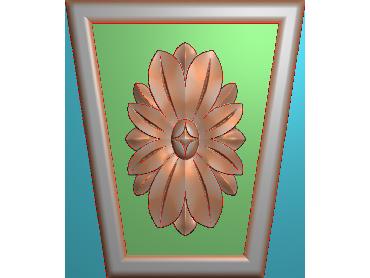 ZBZT081-JDP格式欧式柱托洋花精雕图罗马柱洋花精雕图柱头洋花雕刻图(含灰度图)