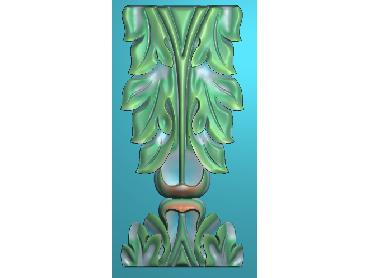 ZBZT109-JDP格式欧式柱托洋花精雕图罗马柱洋花精雕图柱头洋花雕刻图