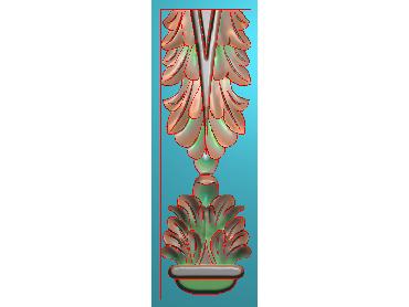 ZBZT115-JDP格式欧式柱托洋花精雕图罗马柱洋花精雕图柱头洋花雕刻图