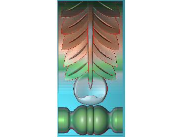 ZBZT123-JDP格式欧式柱托洋花精雕图罗马柱洋花精雕图柱头洋花雕刻图