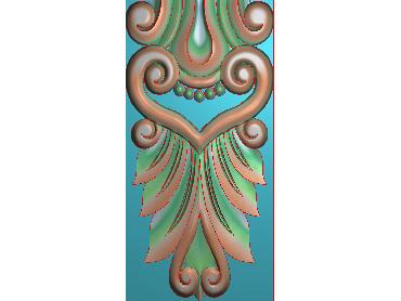 ZBZT125-JDP格式欧式柱托洋花精雕图罗马柱洋花精雕图柱头洋花雕刻图