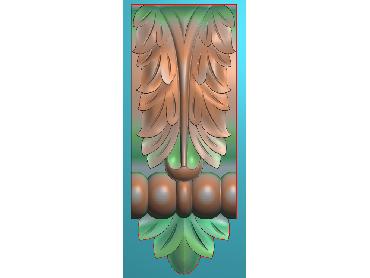 ZBZT126-JDP格式欧式柱托洋花精雕图罗马柱洋花精雕图柱头洋花雕刻图