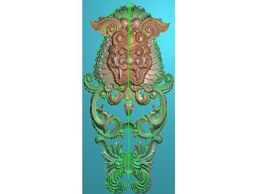 ZBZT131-JDP格式欧式柱托洋花精雕图罗马柱洋花精雕图柱头洋花雕刻图