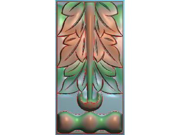 ZBZT145-JDP格式欧式柱托洋花精雕图罗马柱洋花精雕图柱头洋花雕刻图(含灰度图)