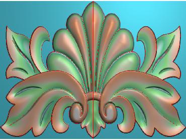 OUFH010-JDP格式欧式方形洋花精雕图方花电脑雕刻图方形洋花精雕图方块贴花精雕图欧式方形洋花灰度图(含灰度图)