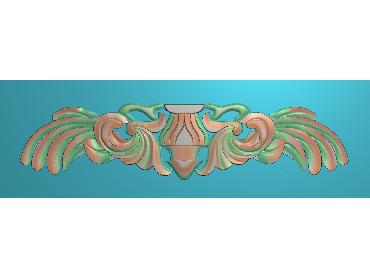 MDYH009-JDP格式欧式帽顶洋花精雕图牙板洋花精雕图欧式洋花精雕图欧式底板贴花精雕图(含灰度图)