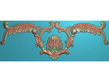 MDYH011-JDP格式欧式帽顶洋花精雕图牙板洋花精雕图欧式洋花精雕图欧式底板贴花精雕图(含灰度图)